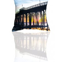 Coussin decoratif tendance &amp; design San Francisco beach - Decorative designed cushions San Francisco beach