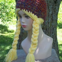 Pattern Knit Rapunzel Hat