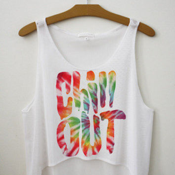 Chill Out Crop Top | fresh-tops.com