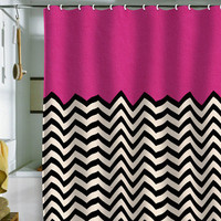 Bianca Green Follow Your Heart Shower Curtain