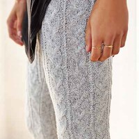 KNITZ By For Love & Lemons Snowday Wide-Leg Pant - Urban Outfitters