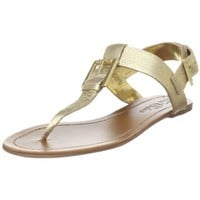 Ted Baker Women`s Eastre Flat,Gold,9 M US