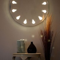 Round Wall Mirror With Original Lighting ? Perito Moreno by Iris Design Studio | DigsDigs