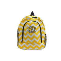 ON SALE- Aztec Print 17 Inch Backpack With Pink Trim and Free Monogramming