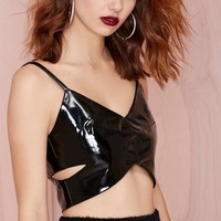 Under Wraps Crop Top