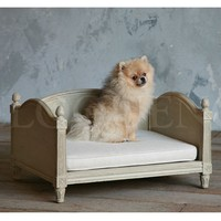 Theodore Dog Bed in Grey