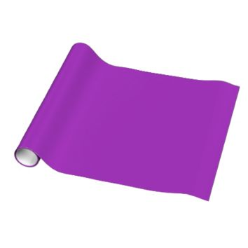 Dark Orchid Template Wrapping Paper