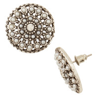 ModCloth Statement A Glam Entrance Earrings