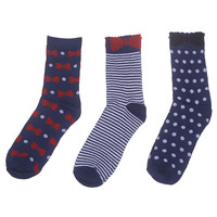 Bow Sock 3-Pack | Wet Seal