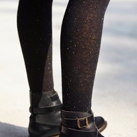 Free People Womens Parisian Speckled Tight - Black, One