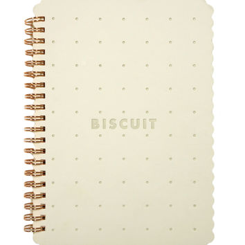 Biscuit Notebook - White | HOTTT.COM