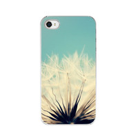 In Stock Sale - iPhone 4&amp;4s Case - Dandelion Against Blue Sky - Fine Art Nature Photography - &quot;She&#x27;s a Firecracker&quot;