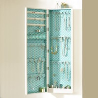 Chloe Wall Cabinet, Pool Clover