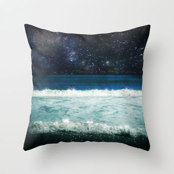 The Sound and the Silence Throw Pillow by Jenndalyn