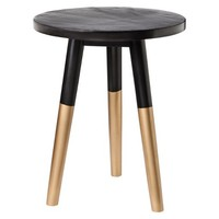 Nate Berkus™ Black and Gold Accent Table