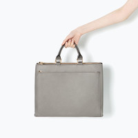 Office city bag with pocket