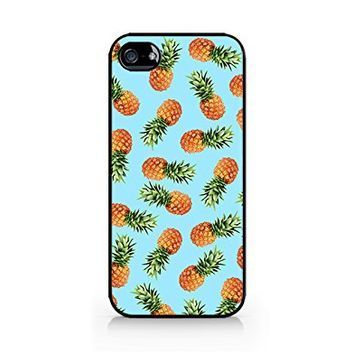 Pineapple Pattern - Tropical Pattern - Summer Pattern - Tropical Fruit Pattern - iPhone 4/4S Black Case