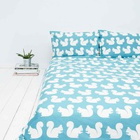 Anorak Squirrel Double Duvet Cover - Urban Outfitters