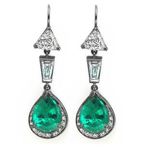Platinum The Verdana Earrings