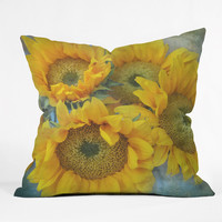 Lisa Argyropoulos Sunny Disposition Throw Pillow