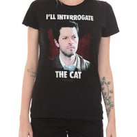 Supernatural Interrogate The Cat Girls T-Shirt