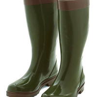 ModCloth Interpretive Naturalist Rain Boot