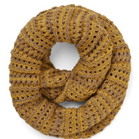 Two-Tone of a Kind Scarf in Mustard and Tan | Mod Retro Vintage Scarves | ModCloth.com