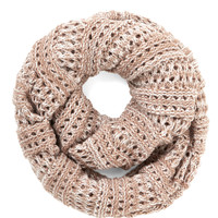 Two-Tone of a Kind Scarf in Rose and Ivory | Mod Retro Vintage Scarves | ModCloth.com