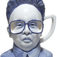 Charles Krafft (with Mike Leavitt) - Kim Jong Il Mug - $800.00 : {Far4}, Seattle Home Decor