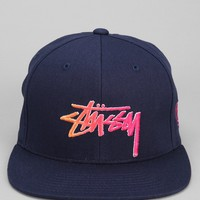 Stussy Stock Fade Script Snapback Hat - Urban Outfitters