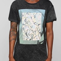 Poolhouse Watercolor Boxy Long Tee - Urban Outfitters