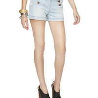 Denim Matelot Short