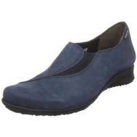 Mephisto Women`s Figura Slip-On Loafer Casual, Navy Bucksoft, 38.5 (US Women`s 8.5) M US