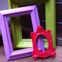 Frames, Vintage Frames, Princess and the Pea, Painted Frames, Upcycled Frames, Hollywood Regency