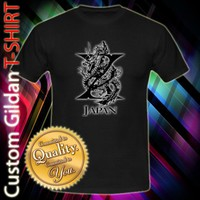 X Japan Rock Band Dragon Logo Custom Black T-Shirt Size S-2XL