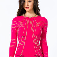 Double Link Draped Body Chain GoJane.com