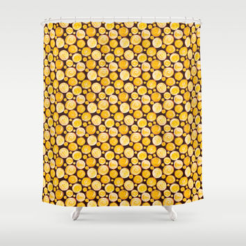 Kansas Pattern Shower Curtain by Timone | Society6
