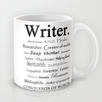 Writer Mug by Rebekah Joan