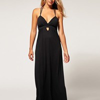 ASOS Collection | ASOS Padded Keyhole Front Grecian Maxi Dress at ASOS