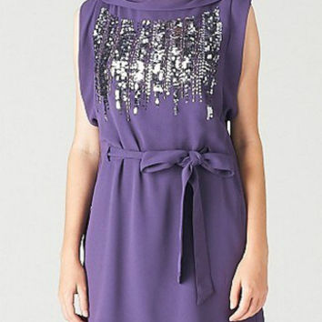 LAVENDER MIDNIGHT ROMANCE DRESS