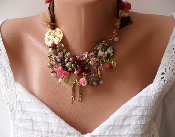 Colorful Necklace - Speacial Handmade Design