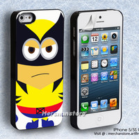 Wolverine Minion iPhone 5 or 5S Case