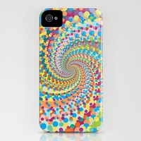 Colour Mix Spiral iPhone Case by Ornaart | Society6