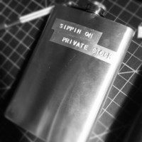 Sippin on private stock flask biggie smalls notorious big