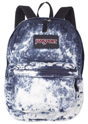 Acid Blue Denim Daze Backpack