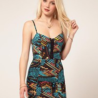 Minkpink 'Bel Air' Strappy Hook & Eye Dress at asos.com
