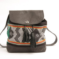 The Inca Backpack &amp; shoulder bag// Ready to ship  //