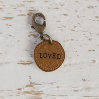 LOVED  Junk  Market  Charm  From  Natural  Life