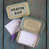 Prayer  Boxes:  Moon  &  Stars  Prayer  Box  From  Natural  Life