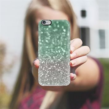 Mint and Gray iPhone 5s case by Lisa Argyropoulos | Casetify